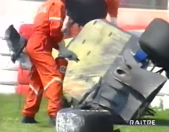 incidente Barrichello Imola 1994 -2