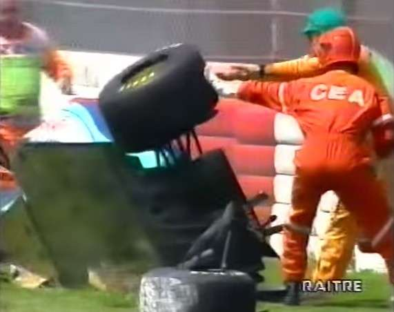 incidente Barrichello Imola 1994 -3