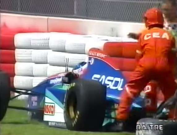 incidente Barrichello Imola 1994 -4