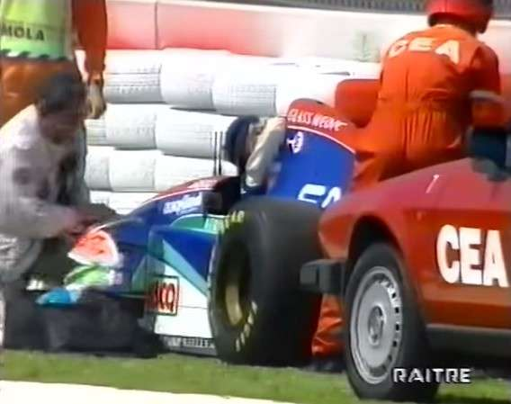 incidente Barrichello Imola 1994 -6
