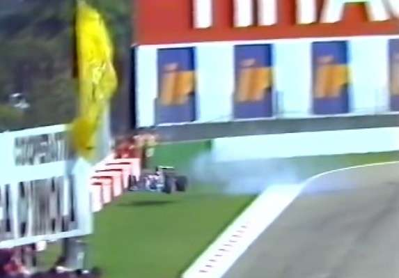 incidente Barrichello Imola 1994 -8