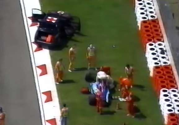 incidente Barrichello Imola 1994 -9