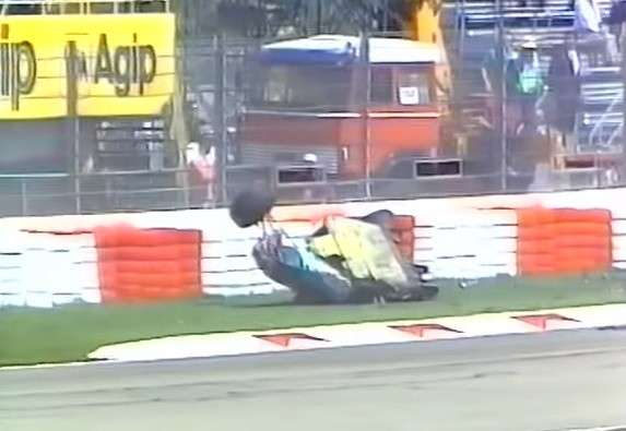 incidente Barrichello Imola 1994 -5