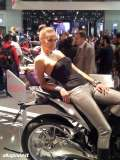 Hostess e ragazze all'EICMA 2013