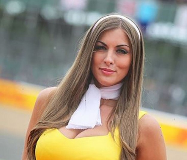 Gp Silverstone F1 2015, Grid Girls