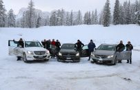 Mercedes, 4Matic e AMG: test sulla neve a Cortina d'Ampezzo [FOTO e VIDEO]