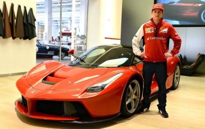 Ferrari LaFerrari: Kimi Raikkonen finisce in testacoda! [FOTO e VIDEO]