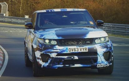 Range Rover Sport SVR 2015: informazioni dopo Goodwood e Nurburgring [VIDEO]