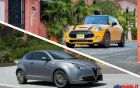 Mini 2014 vs Alfa Romeo Mito 2014: confronto tra piccole sportivette [FOTO e VIDEO]
