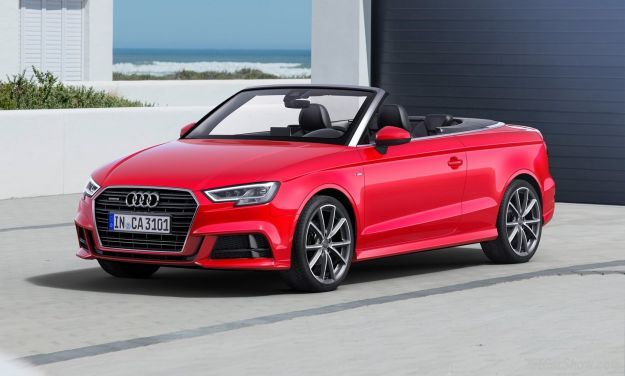 audi a3 cabriolet 2019 listino prezzi motori e consumi. Black Bedroom Furniture Sets. Home Design Ideas