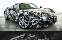 Alfa Romeo 4C Deadly Snake by Garage Italia Customs: il biscione si veste da scarpa [FOTO]