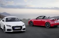 Audi TT S Line Competition, coupé e roadster aggressive nel look [FOTO]