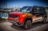 Jeep Renegade Hell's Revenge: Garage Italia Customs omaggia Harley-Davidson [FOTO]