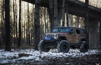 "Jeep Wrangler, tuning by Vilner: elaborazione ""Rat Look"""