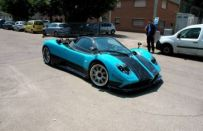 Pagani Zonda Uno, video e foto spia