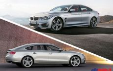 Audi A5 Sportback VS. Bmw Serie 4 Gran Coupé: confronto in grande stile tedesco