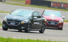 Peugeot Driving Experience 2015: week end in pista col leone