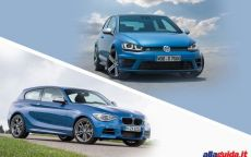 Volkswagen Golf R vs BMW M135i: confronto tra sportive tedesche [FOTO e VIDEO]