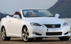 Lexus IS 250C Limited Edition per l'Inghilterra