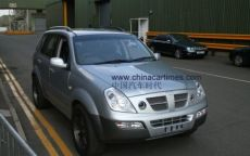 MG Roewe: un Suv insieme alla Ssangyong?