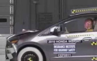 Honda Insight: crash test