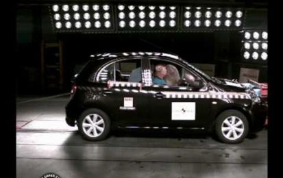 Nissan Leaf e Chevrolet Volt superano crash test IIHS
