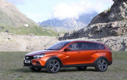 Lada Vesta Cross Concept: SUV svelato all'Off-Road Show di Mosca [FOTO]