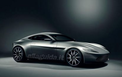 Aston Martin DB10, l'auto di James Bond in Spectre
