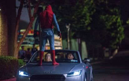 "Audi A8 2018: in anteprima nel film ""Spider-Man: Homecoming"" [FOTO]"