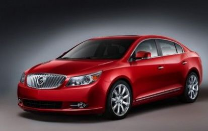Buick LaCrosse ibrida al Salone di Los Angeles