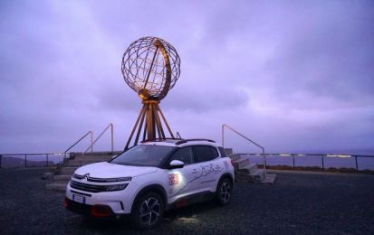 Citroen C5 Aircross 71° N Limited Edition: operazione White Cruise completata