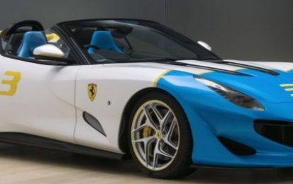 "Ferrari SP3JC: dalla costola della F12TDF nasce una one-off ""colorata"""