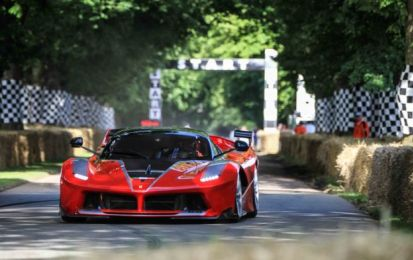 Ferrari al Goodwood Festival of Speed 2016: il Cavallino che piace!