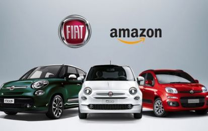 Fiat Panda, 500 e 500L su Amazon: il Welcome Kit per lo sconto speciale