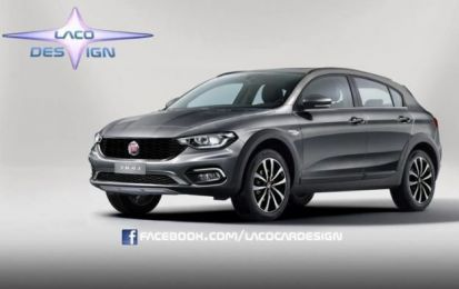 Fiat Tipo Cross: rendering per l'off-road [FOTO]