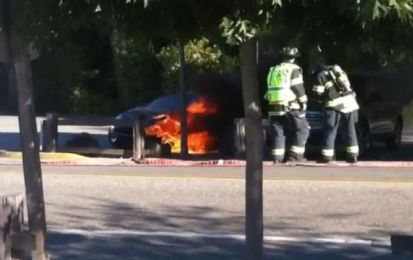 Fisker Karma: in fiamme un esemplare in California [VIDEO]