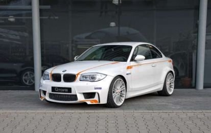 BMW Serie 1 M Coupé G-Power, un tuning da 435 cavalli [FOTO]