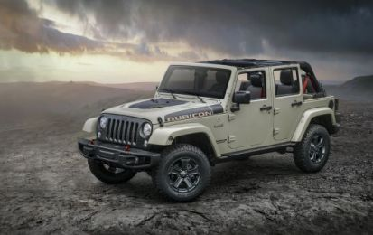 Jeep Wrangler Unlimited Recon 2017: si specializza ancor di più nell'off-road [FOTO]