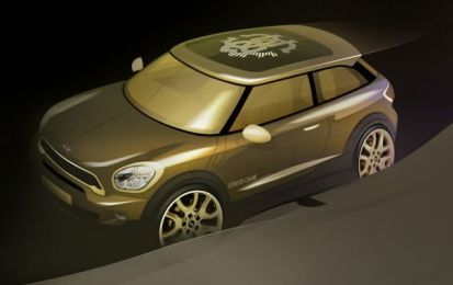 Mini Paceman Frozen Black, vestito all-black in serie limitata [FOTO]