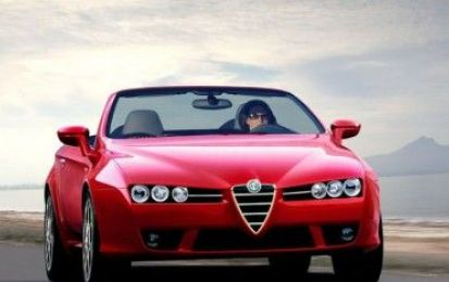 Alfa Romeo Spider in un tour siciliano
