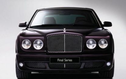 Bentley Arnage Final Series: anteprima al Salone dell'Auto di Parigi