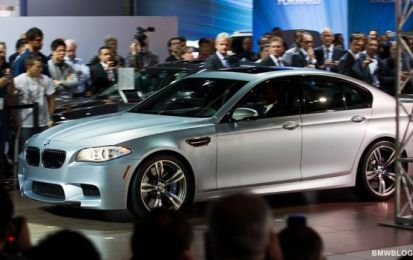 BMW M5 Frozen Silver al Salone di Los Angeles 2011