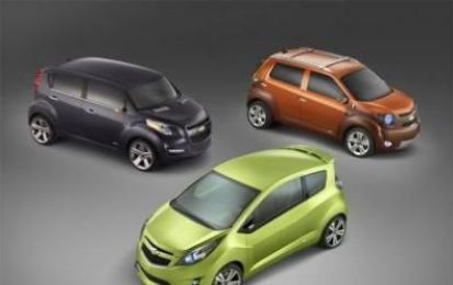 Chevrolet Beat, Groove, Trax a Francoforte