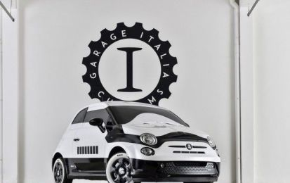 Fiat 500e Star Wars by Garage Italia Customs: a Los Angeles in bicolore [FOTO]