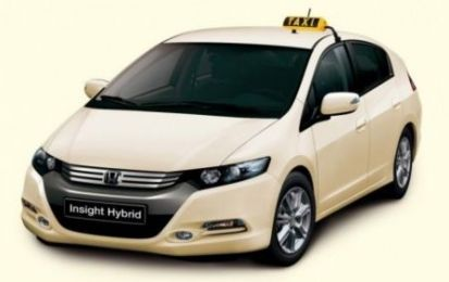 Honda Insight e Civic in allestimento Taxi