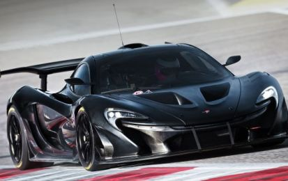 McLaren P1 LM al Festival of Speed di Goodwood 2016