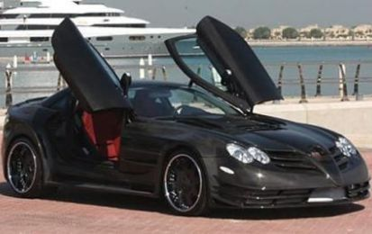 Tuning Mercedes: SLR Perfectus by ASMA Design