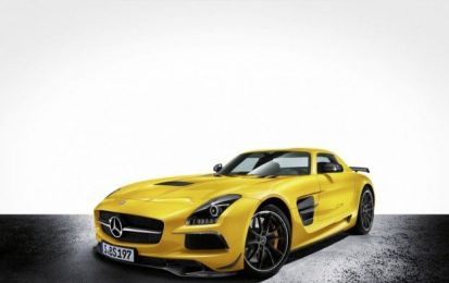 Mercedes SLS AMG Black Series: la supercar aggressiva [FOTO e VIDEO]