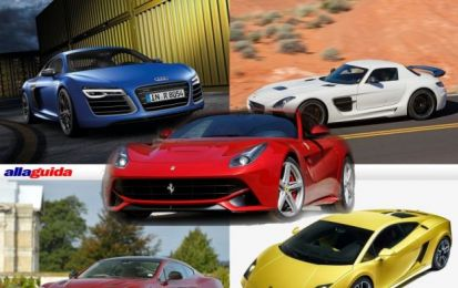 Migliori supercar: la nostra classifica [FOTO]