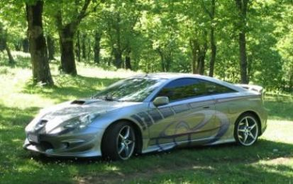 Toyota Celica ts tuning